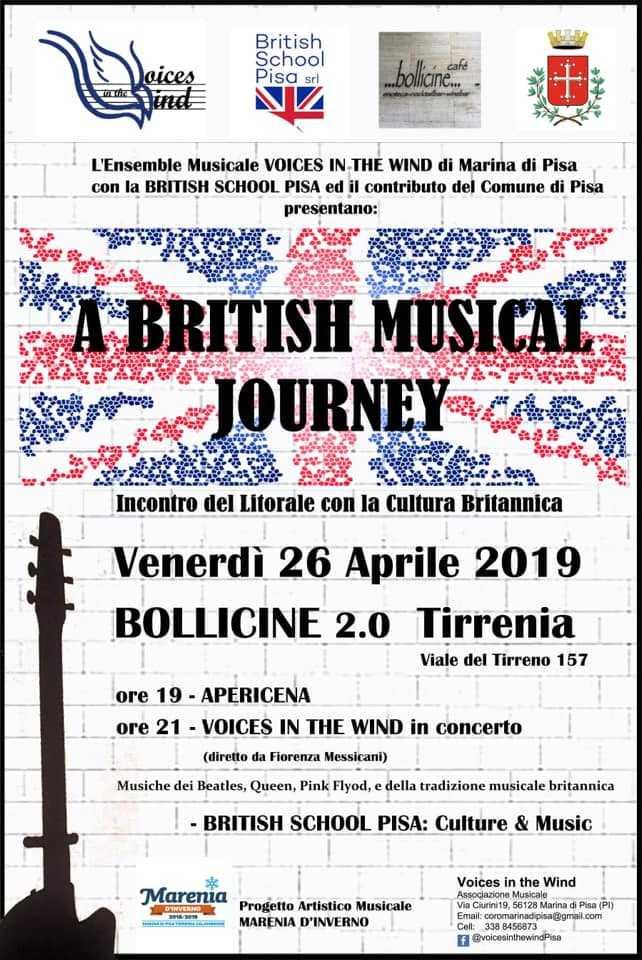 evento british musical